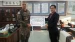 육군 제25사단, 남면사무소 쌀 전달.jpg